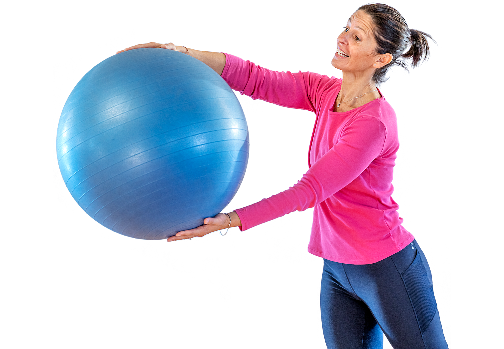 Pilates con fitball online